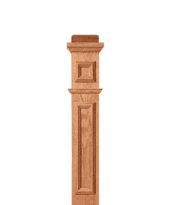 Box Newel Post Picture Frame Kits