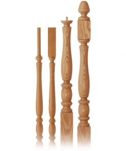 Briarcliffe Collection Wood Balusters and Newel Posts