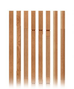 Clean Wood Balusters
