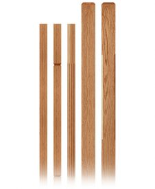 Crisp Collection Wood Balusters and Newel Posts