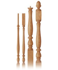Harbor Collection Wood Balusters and Newel Posts