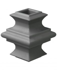 "LI-ALAK01: Adjustable Knuckle for 1/2"" Square Iron Balusters"