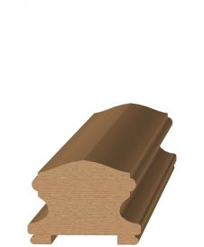 "LJ-6400P: 1 3/4"" Plow Handrail"