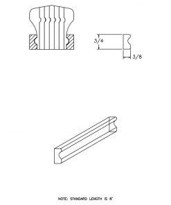 LJ-6601BM: Pine Bending Mould for LJ-6601B CAD Drawing