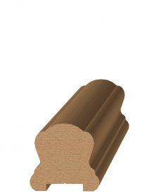"LJ-6B10P0: 1 1/4"" Plow Handrail"