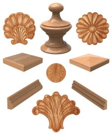 Box Newel Post Accessories