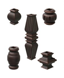 Baluster Knuckles for Square Metal Balusters