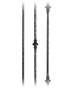 Orb Collection 1/2 Inch Solid Round Iron Balusters