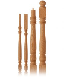 Harmony Collection Wood Balusters and Newel Posts