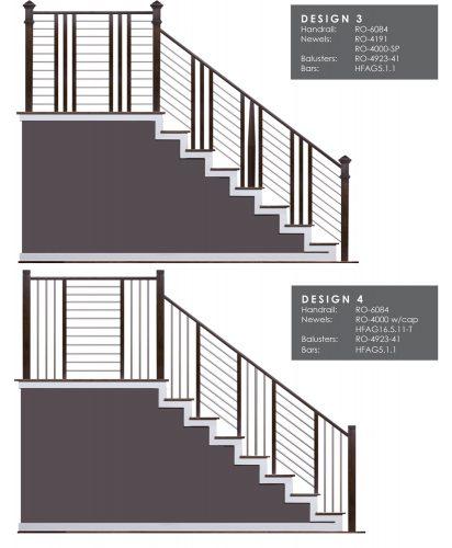 Horizontal Railing Design Samples 2