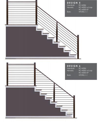 Horizontal Railing Design Samples 3
