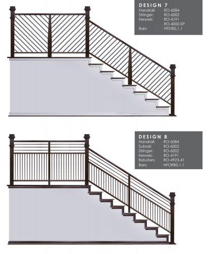 Horizontal Railing Design Samples 4