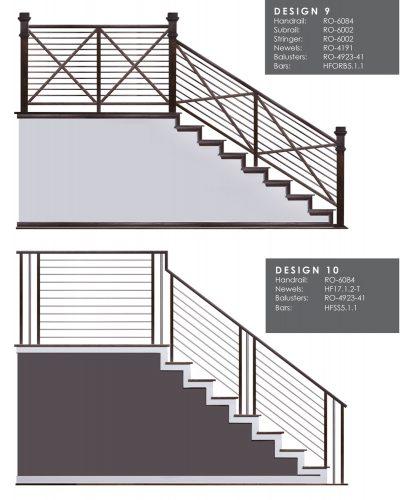 Horizontal Railing Design Samples 5