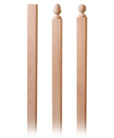 Wood Newel Post Blanks