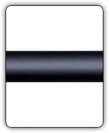Satin Black Horizontal Railing