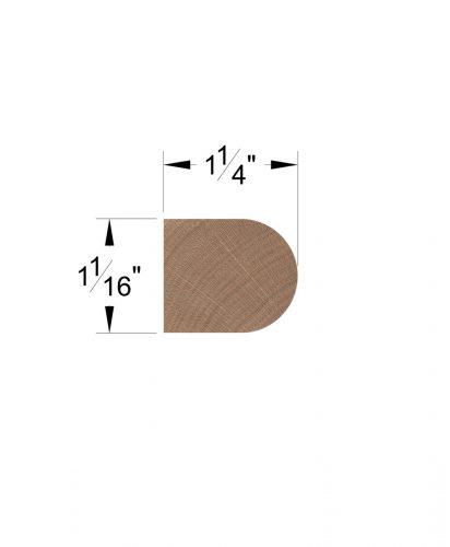 LJ-8080: Tread Nosing Dimensions
