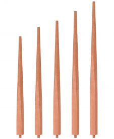"OP-2200-5L-175: 1 3/4"" Taper-Top Baluster"