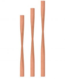 "OP-2205-175: 1 3/4"" Block-Top Baluster"
