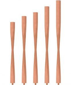 "OP-2205-5L-175: 1 3/4"" Block-Top Baluster"