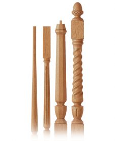 Regent Collection Wood Balusters and Newel Posts