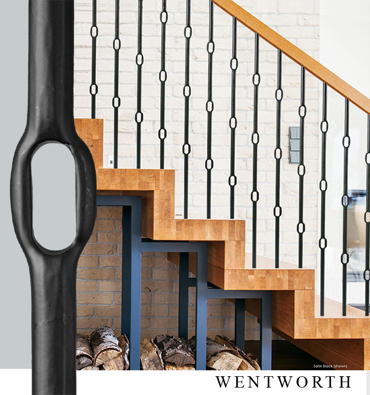House of Forgings Wentworth Round Series Iron