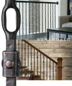 Wentworth Solid Iron Balusters and Newels