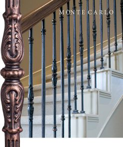 Monte Carlo Balusters and Newels