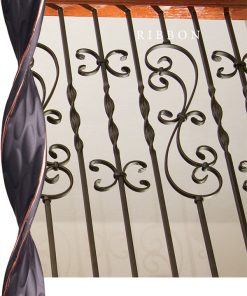 Ribbon Solid Iron Balusters and Newels