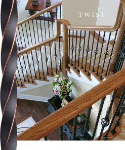 Twist Balusters and Newels