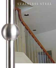 304 Grade Stainless Steel Balusters and Newels