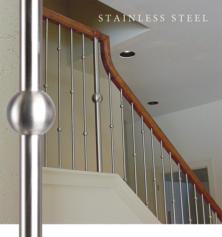 House of Forgings Stainless Steel Balusters and Newels Photo