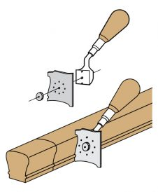 LJ-3040: Handrail and Fitting Scraper Illustration