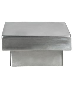 LJ-9017: Flat Metal Newel Cap