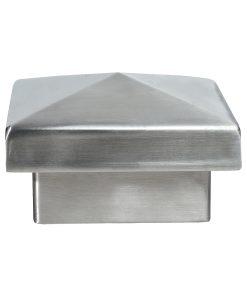 LJ-9018: Pyramid Metal Newel Cap