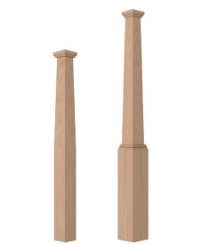Tapered Box Newel Posts