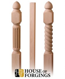 Wood Newel Posts