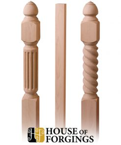 Wood Balusters and Newel Posts