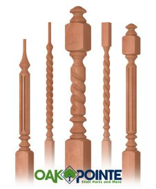 Wood Balusters and Newels