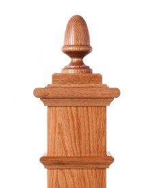 LJ-9003: Box Newel Post Acorn Finial