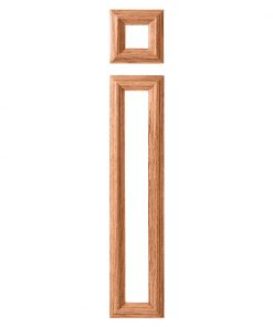 LJ-9204: Box Newel Post Large Picture Frame Kit