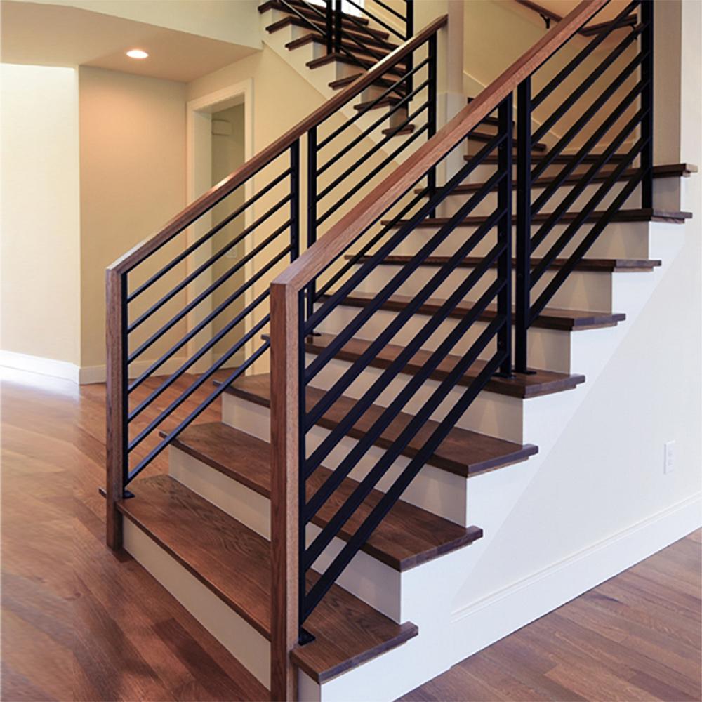 PR-O3036 Linear Stair Panels, P-POST2H Panel Posts, 684 Handrail