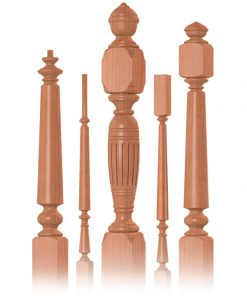 Victoria Balusters and Newels