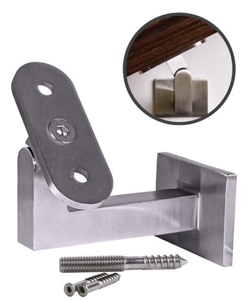 HF17.4002: Stainless Steel Wall Rail Bracket