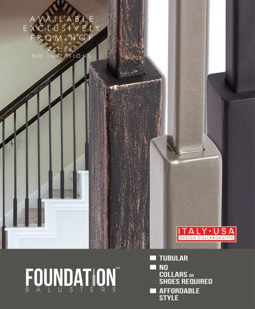 Houseb of Forgings Foundation Balusters