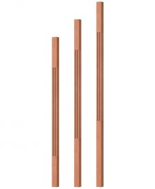 "OP-5060-125-F: 1 1/4"" Fluted Square Baluster"