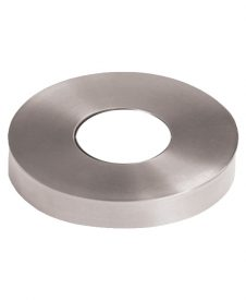 HF17.4.5: Soho Round Newel Mounting Kit Stainless Steel Flange Cover