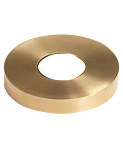 HF18.4.5: Soho Round Newel Mounting Kit Brass Flange Cover