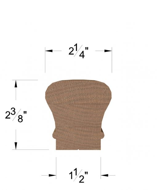 LJ-6010B: Bending Handrail Dimensions