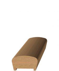 "LJ-6042P 1 5/8"" Plowed Handrail"