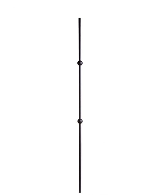 """HF16.8.13:  5/8"""" Hollow Round Iron Double Knuckle Baluster"""